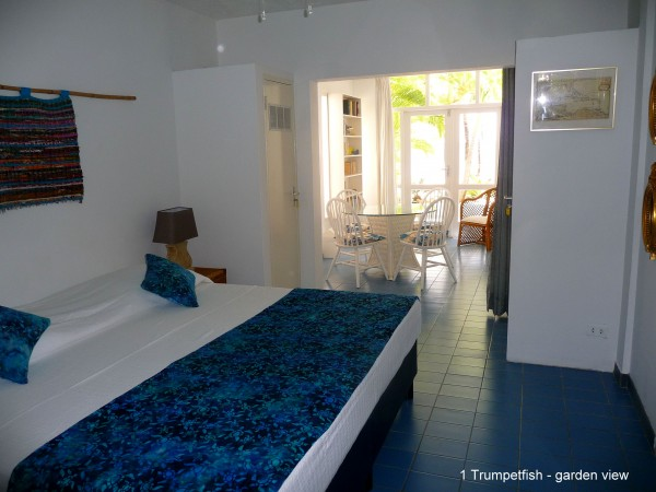 1 Trumpetfish -Downstairs Bedroom - terrace view